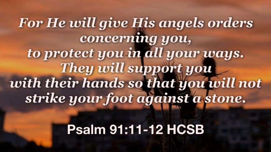 Protected by God's army of angels